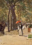 Die Fifth Avenue am Washington Square, Childe Hassam