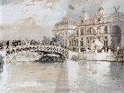 Columbian Exposition Chicago, Childe Hassam