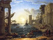 Claude Lorrain Seaport with the Embarkation of the Queen of Sheba