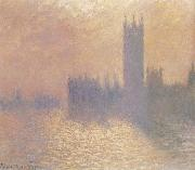 Houses of Parliament,London,Stormy Sky