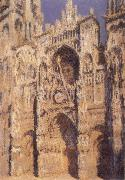 Rouen Cathedral,portrait of Sint-Romain-s Tower