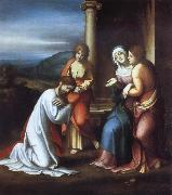 Christ Taking Leave of His Mother, Correggio
