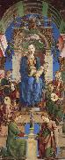 The Virgin and Child Enthroned with Angels Making Music