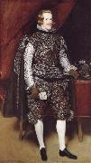 Philip IV of Spain in Brown and Silver, Diego Velazquez