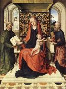 The Virgin and Child Enthroned with Saints Peter and Paul, Dieric Bouts