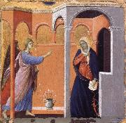 Duccio The Annunciation oil painting reproduction