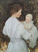 Mother and child, E.Phillips Fox