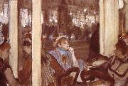 Women on the terrace, Edgar Degas