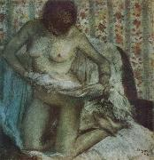 Edgar Degas After the Bath oil painting reproduction