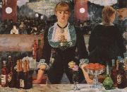 A Bar at the Follies-Bergere, Edouard Manet