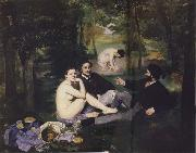 Edouard Manet Luncheon on the Grass oil painting reproduction