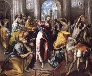 Christ Driving the Traders from the Temple, El Greco