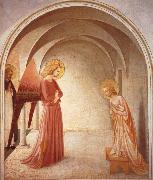 Fra Angelico Annunciatie oil painting reproduction