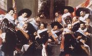 Banquet of the Officers of the Civic Guard of St Adrian, Frans Hals