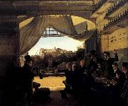 Crown Prince Ludwig in the Spanish Wine Tavern in Rome
