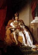 Emperor Franz I of Austria in his Coronation Robes, Friedrich von Amerling