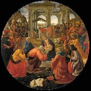 Adoration of the Magi, GHIRLANDAIO, Domenico