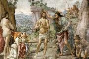 Detail of Baptism of Christ, GHIRLANDAIO, Domenico