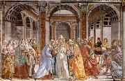 Marriage of Mary, GHIRLANDAIO, Domenico