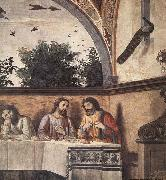 Last Supper detail, GHIRLANDAIO, Domenico