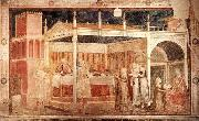GIOTTO di Bondone Feast of Herod oil painting reproduction