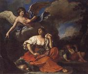 The Angel Appearing to Hagar and Ishmael, GUERCINO