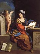 The Cumaean Sibyl with a Putto, GUERCINO
