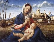 The Madonna of the Meadow, Gentile Bellini