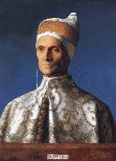 Portrait of the Doge Leonardo Loredan, Gentile Bellini