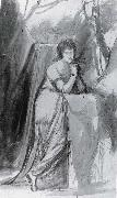 Study for Portrait of Sarah Siddons