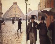 Gustave Caillebotte Paris Street,Rainy Day