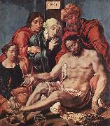 HEEMSKERCK, Maerten van Lamentation of Christ oil painting reproduction