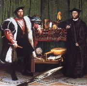 Portrait of Jean de Dinteville and Georges de Selve, Hans holbein the younger