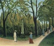 The Chopin Memorial in the Luxembourg Garden, Henri Rousseau