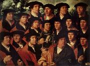 Group portrait of the Shooting Company of Amsterdam