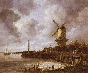 The mill by District by Duurstede, Jacob van Ruisdael