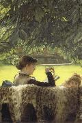 Stillness, James Tissot