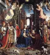 Jan Gossaert Mabuse THe Adoration of the Kings oil painting reproduction