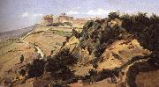 Jean Baptiste Camille  Corot Volterra oil painting reproduction