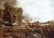 John Constable The jumping horse