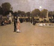 The Luxembourg Gardens at Twilight, John Singer Sargent