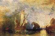 Joseph Mallord William Turner Uysses Deriding Polyphemus oil painting reproduction