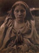 Julia Margaret Cameron Holy Agnes oil painting reproduction