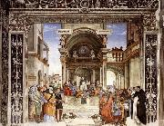 LIPPI, Filippino Triumph of St Thomas Aquinas over the Heretics oil painting reproduction