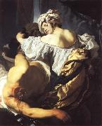 Judith in the Ten of Holofernes
