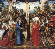 MASTER of the Aix-en-Chapel Altarpiece The crucifixion oil painting reproduction