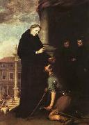 St. Thomas of Villanueva Distributing Alms, MURILLO, Bartolome Esteban