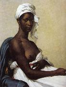 Marie-Guillemine Benoist Portrait of a Black woman oil painting reproduction