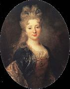 Nicolas de Largilliere Portrait of a Lady oil painting