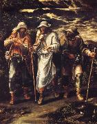 Orsi, Lelio The Walk to Emmaus oil painting